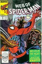 Web of Spiderman # 53 (Mark Bagley) (Estados Unidos, 1989)
