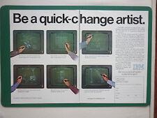 5/1981 PUB IBM DATA PROCESSING CADAM SOFTWARE IBM 4300 COMPUTER ORIGINAL ADVERT