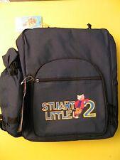 Stuart Little 2 Movie Studio Promo Picnic Set Backpack NEW Plus Videogame & CD!