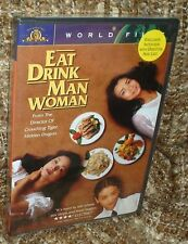 EAT DRINK MAN WOMAN DVD, NEW & SEALED, RARE, WIDESCREEN, AN ANG LEE FILM