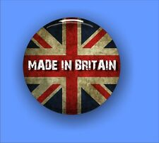 Union Jack - Made Iin Britain - Large Button Badge - 58mm diam