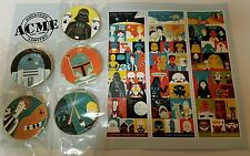 ACME - Collectible Art Pins - Star Wars IV - VI LE 250 Disney Pin set