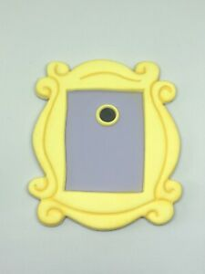 Friends Inspired Themed Peephole Frame Edible Fondant Cake Topper Decoration