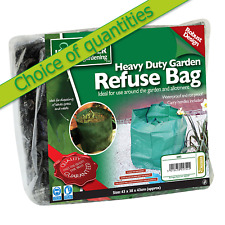 Small 55L Strong GARDEN REFUSE BAG - Kingfisher - Multi Buy Deals / Discounts