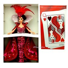 1994 Bob Mackie Queen of Hearts Barbie Doll Timeless Creations With Shipper