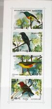 MAYOTTE 2002 Block 6 S/S 181 local Birds einheimische Vögel Fauna Nature MNH