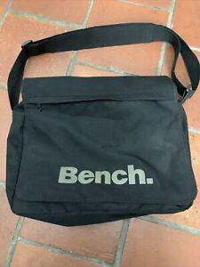 Mens Black Bench Messenger Bag (laptop Bag)