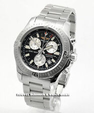 Breitling Armbanduhren aus Edelstahl mit Chronograph