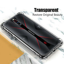 For ZTE nubia Red Magic 5G, Shockproof Flexible Soft TPU Transparent Case Cover