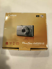 New! Canon PowerShot A4000 IS 16.0MP Camera - Black