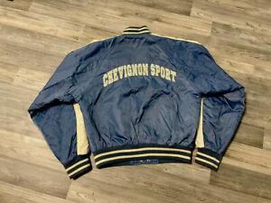 Chevignon Sport Vintage Bomber Jacke Team 57