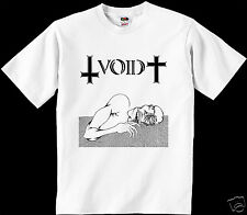 Void CAMISETA FAITH Minor threat hardcore Punk rock Crossover thrash indigesti