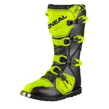 ONeal Rider Boot MX Cross Stiefel Hi-Viz Neon Gelb Motocross Motorrad Enduro