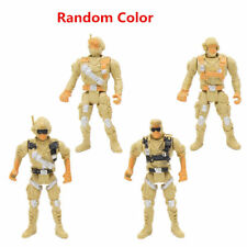 Khaki Military Plastic Toy Soldiers Model Army Men Accessories Boy Gift Decor