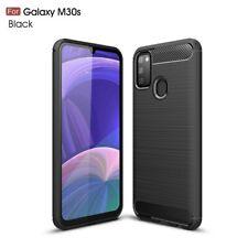 Samsung Galaxy M30s Handy Hülle Silikon Case Schutzhülle Cover Carbon Farben