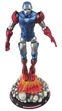 Diamond Marvel Select Toys WHAT IF? CAPTAIN AMERICA Action Figure 18 Cm New