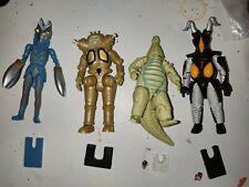 Shodo Ultraman Space aliens Lot!!! Baltan -Red King -King Joe -Zetton !!! HTF!!