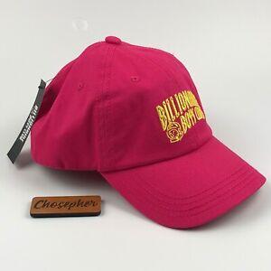 Billionaire Boys Club Kids BB Atmosphere Hat Cap Pink Yellow Adjustable NWT $45