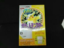Used Nintendo 2ds Pikachu Yellow Edition pokemon games Rare Limied F/S