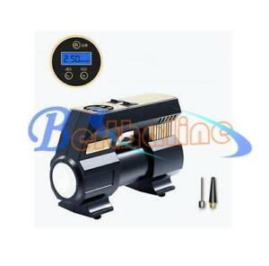 Automatic Tire Inflator Electric Car Air Pump Compressor 12V Portable Digital
