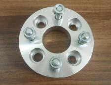 2 pcs 4x108 to 4x100 Wheel Adapters Spacers 12x1.5 studs 15mm thick