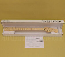099-6202-921 Genuine Fender Replacement Jazz Bass Neck - Maple Fingerboard