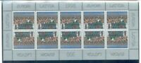 Latvia Sc 463 1998 Europa Song Festival stamp sheet mint NH Free Shipping