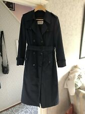 Vintage Womens Cacharel Paris For PAN AM airlines Double Breasted Coat Size 8 T