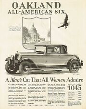 Ref. #59921 Factory Photo 1928 Oakland Four Door Landau Sedan Picture