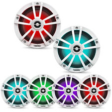 "Infinity 622MLW 6.5"" Coaxial Waterproof Marine RGB LED White Speakers (Pair)"