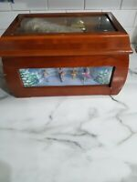 Mr Christmas Gold Label Animated 6 scrolls MusicBox Carousel Spinning Scene