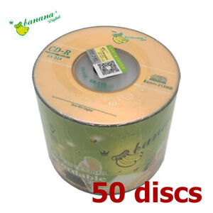 Mini CD-R 32x 8cm Mini 210 MB Blank CD Recordable Discs 210MB - 50 Pieces