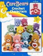 CARE BEARS CROCHET CHARACTERS-10 Patterns-Dolls/Amigurumi Craft Idea Book #3690