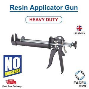 No Nonesense Heavy Duty Resin Gun For Polyester Resin Caulking Fixings
