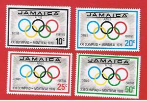 Jamaica #410-413  MNH OG   Olympics Free S/H