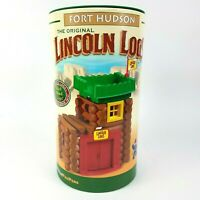 Lincoln Logs Fort Hudson The Original Wood Log Building Set 70 Pieces Complete