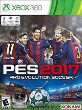 PRO EVOLUTION SOCCER 2017 X3  GAME NEW