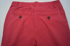 edc ESPRIT Damen Jeans Hose Chino sommer Gr.32 regular pink rosa dünn leicht +