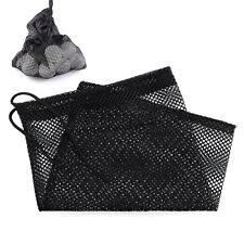 Nylon Mesh Bag Pouch Golf Tennis 15 Balls Carrying Storage Holder Durable