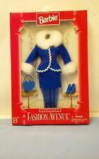 Mint NIB Barbie Fashion Avenue Boutique 1996 Blue Winter Outfit 14980