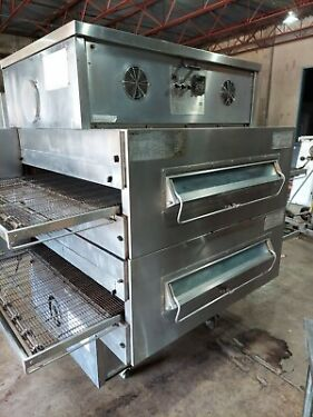 Middleby Marshall PS360EWB Double Stack Conveyor Pizza Ovens