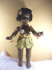 Bambola Vecchia Liala ottima Doll Poupee Puppen anni 50/60 Vintage Antico