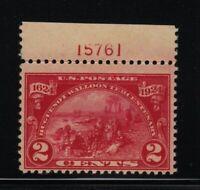 1924 Huguenot Walloon Sc 615 MH original gum Hebert CV $13