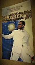 """FLAG or Wall Hanging USHER Truth Tour Live from Atlanta Large 35"""" X 60""""  B"""
