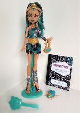 Monster High Original Signature First Release Nefera De Nile Doll Complete Ring