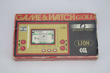 Nintendo Game & Watch Lion LN-08 Gold Series RARE CGL Vintage LCD Handheld and