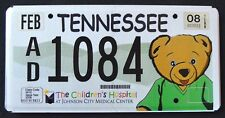 "TENNESSEE "" TEDDY BEAR - CHILDREN HOSPITAL "" TN Specialty License Plate"