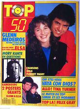 TOP 50 n°111; Elsa/ Glen Medeiros/ Interview Mory Kanté/ Tina Turner/ F. Gray