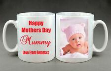 FOTO personalizzata TAZZA felice le madri giorno Moglie Mamma mamma nonna Auntie Grandma