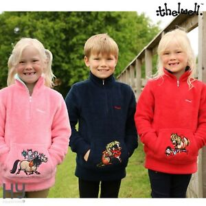 Thelwell Collection Children's Soft Fleece – Perfect for Yard Days, Lined Collar
